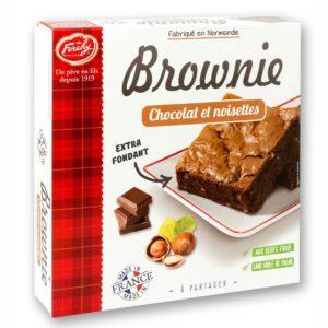 brownie chocolat et noisettes