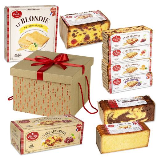 coffret cadeau cakes